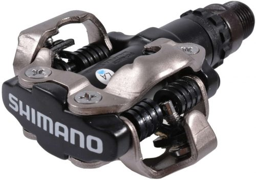 road or mountain bike pedals on a gravel bike